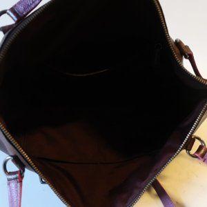 Coach Bags - COACH BURGUNDY LEATHER SHOULDER BAG *